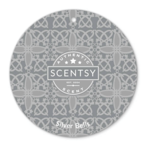 SILVER BELLS SCENTSY SCENT CIRCLE   SILVER BELLS SCENTSY SCENT CIRCLE