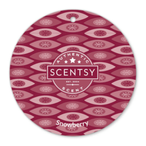 SNOWBERRY SCENTSY SCENT CIRCLE | Snowberry Scentsy Scent Circle