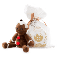 SCENTSY STAN THE MAN GINGERBREAD BUDDY CLIP + VANILLA BEAN BUTTERCREAM