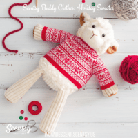 SCENTSY BUDDY CLOTHES: HOLIDAY SWEATER