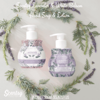 LAVENDER & WHITE BALSAM SCENTSY HAND SOAP