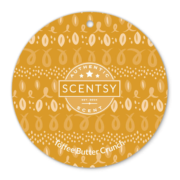 TOFFEE BUTTER CRUNCH SCENTSY SCENT CIRCLE