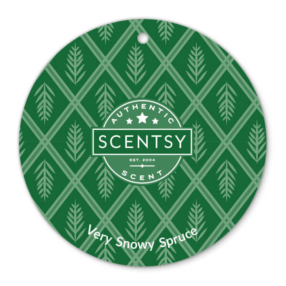Very Snowy Spruce Scentsy Scent Circle