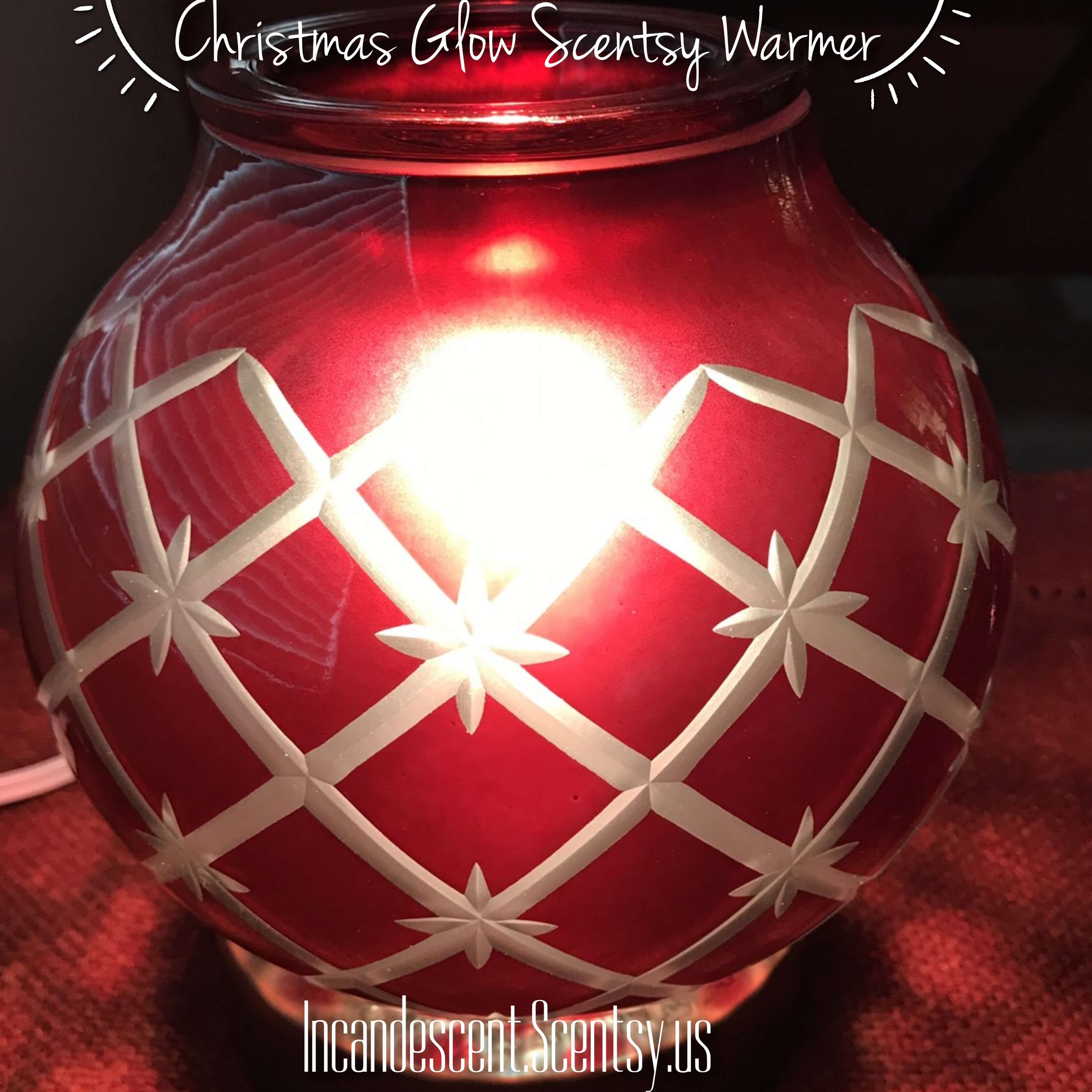 Ordinaire CHRISTMAS GLOW SCENTSY WARMER