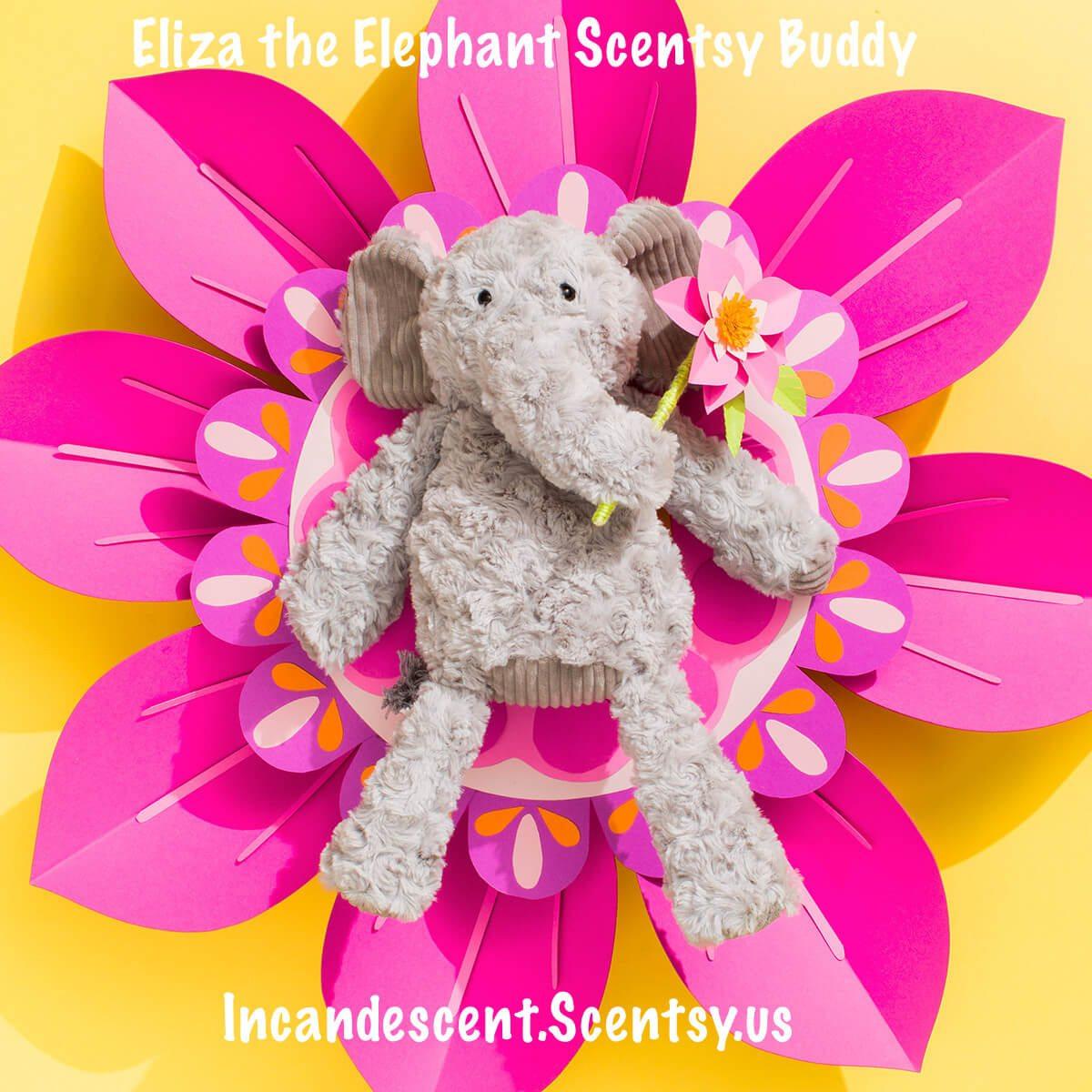 ELIZA THE ELEPHANT SCENTSY BUDDY | New Scentsy Buddy Arriving October 10, 2017 - Eliza the Elephant!