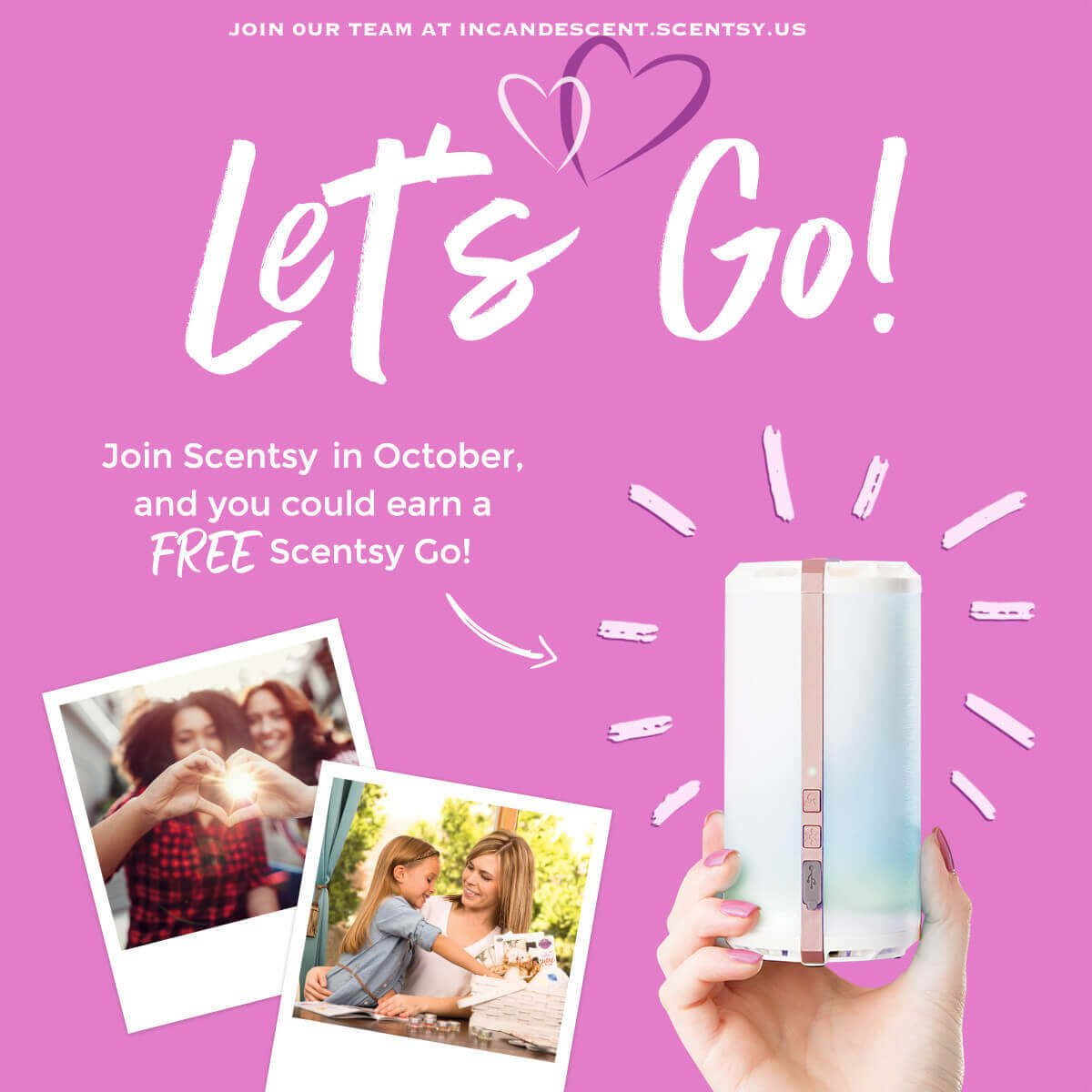 Join Scentsy In October 2017 Earn A Scentsy Go For Free