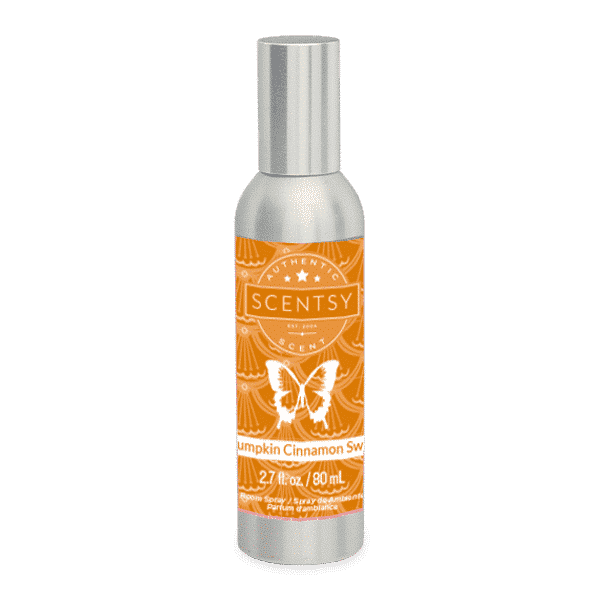 PUMPKIN CINNAMON SWIRL SCENTSY ROOM SPRAY
