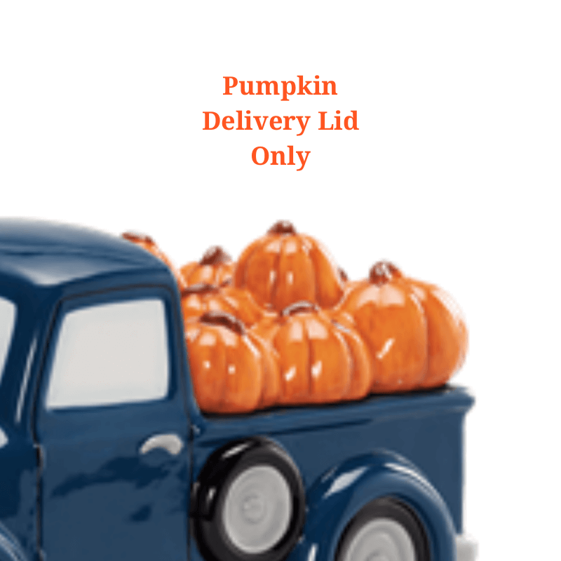 Best Car Wax >> PUMPKIN DELIVERY TRUCK SCENTSY WARMER – LID ONLY | Scentsy ...