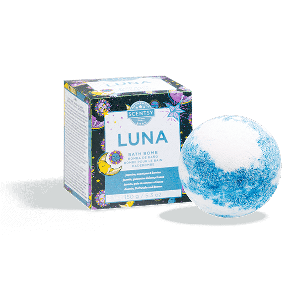 LUNA SCENTSY BATH BOMB   Scentsy® Buy Online   Scentsy Warmers and ...