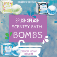 NEW! SCENTSY BATH BOMB FRAGRANCES