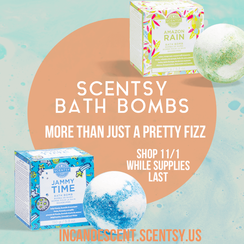 Scentsy Bath Bombs Incandescent.Scentsy.us | SHOP LIMITED EDITION SCENTSY BATH BOMBS