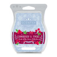 NEW! CRANBERRY & TINSEL SCENTSY BAR