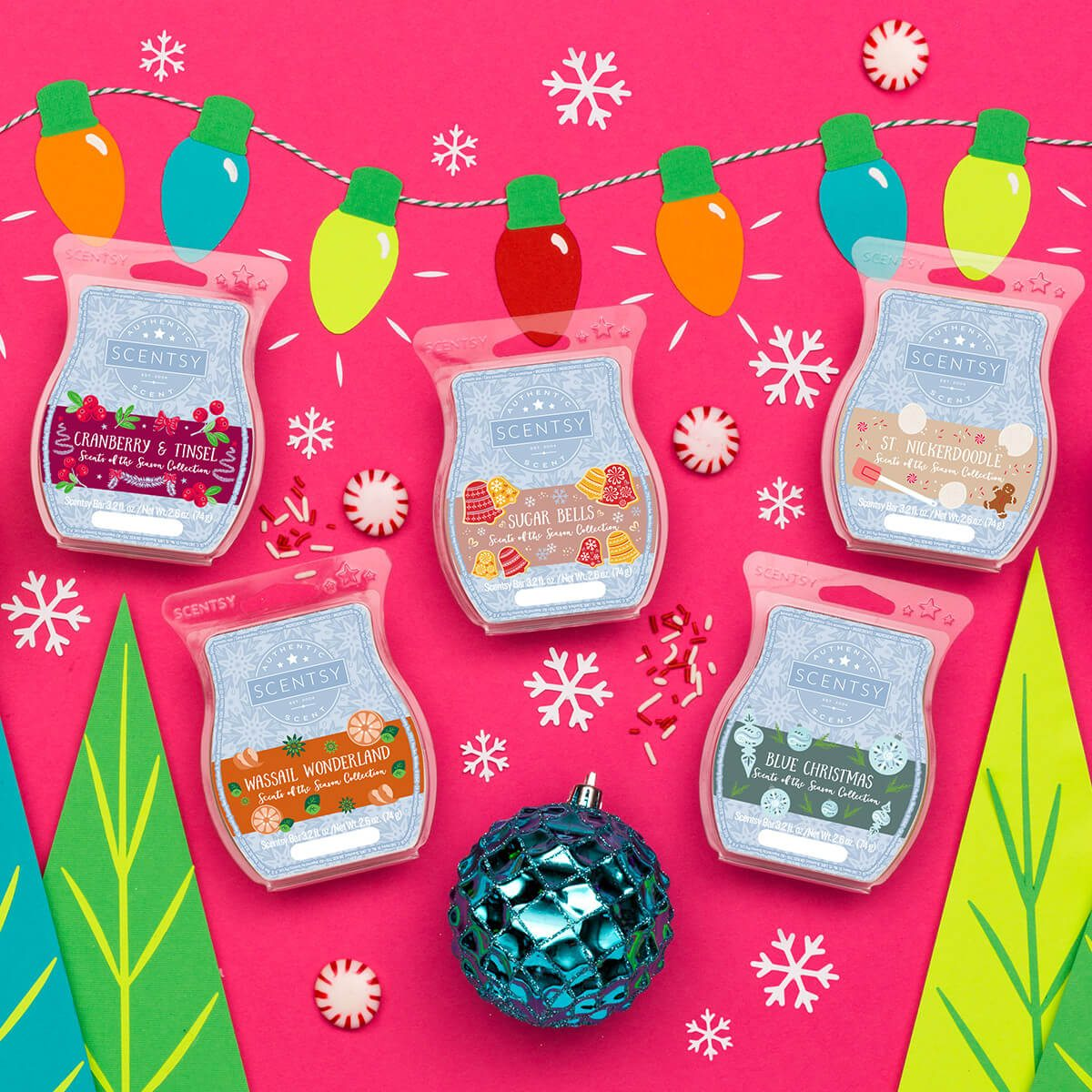 New Scentsy Scents Of The Season 2017 Multi Pack Shop Scentsy Incandescent Scentsy Us