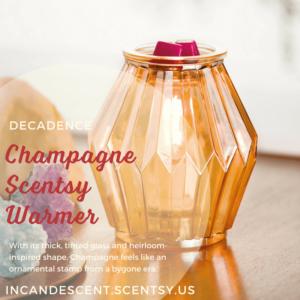 Champagne Scentsy warmer