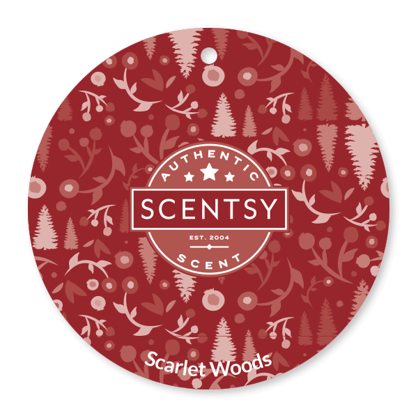 SCARLET WOODS SCENTSY SCENT CIRCLE