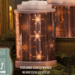 Star Dance Scentsy Warmer Incandescent.Scentsy.us (1)   SCENTSY JANUARY 2018 WARMER & SCENT OF THE MONTH - STAR DANCE SCENTSY WARMER & VANILLAMINT SCENTSY FRAGRANCE