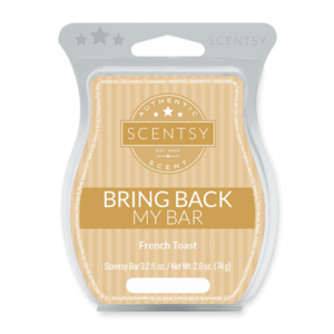FRENCH TOAST BRING BACK MY SCENTSY BAR 2018