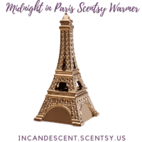MIDNIGHT IN PARIS EIFFEL TOWER SCENTSY WARMER