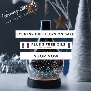 SCENTSY 2018 FEBRUARY DIFFUSER SALE (2) | SCENTSY FEBRUARY 2018 SALE AND NEW SCENTSY CONSULTANT SPECIAL!