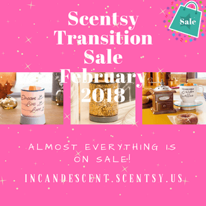 SCENTSY FEBRUARY 2018 SALE AND NEW SCENTSY CONSULTANT SPECIAL!