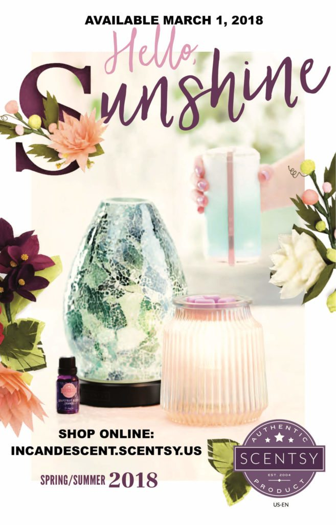 NEW SCENTSY SPRING SUMMER 2018 CATALOG INFO | Scentsy® Buy