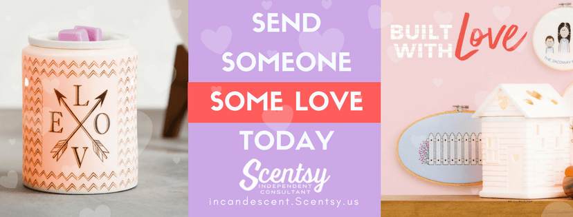 SCENTSY VALENTINE'S DAY GIFTS IDEAS INCANDESCENT | SEND SOME SCENTSY LOVE THIS VALENTINE'S DAY
