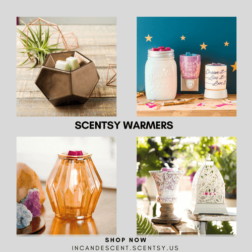SCENTSY WARMERS & SCENTSY DIFFUSERS