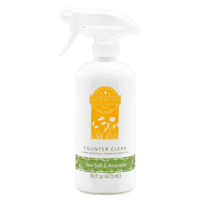 SEA SALT & AVOCADO SCENTSY COUNTER CLEAN