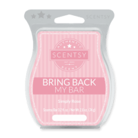 SIMPLY ROSE BACK MY SCENTSY BAR 2018
