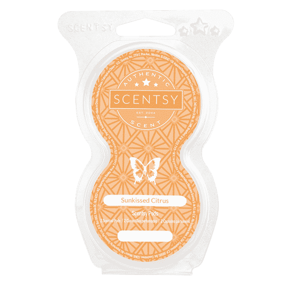 SUNKISSED CITRUS SCENTSY GO POD TWIN PACK | Sunkissed Citrus Scentsy Pods