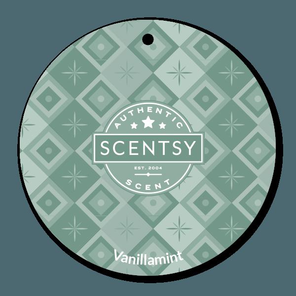 VANILLAMINT SCENTSY SCENT CIRCLE