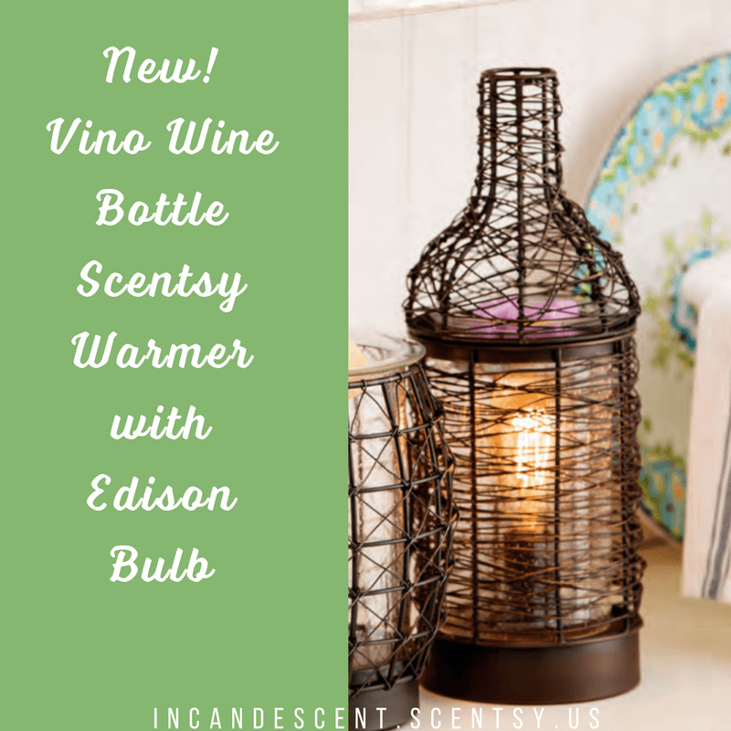 New Vino Wine Bottle Scentsy Warmer Scentsy Buy Online Scentsy
