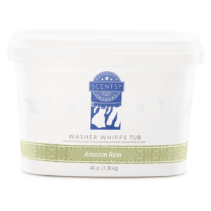 NEW! AMAZON RAIN SCENTSY WASHER WHIFFS TUB 48 OZ | Shop Scentsy | Incandescent.Scentsy.us