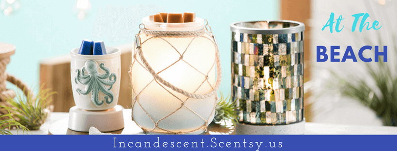 At The Beach SCENTSY WARMRS | BUY SCENTSY WARMERS - SHIPPED DIRECT | Scentsy® Online Store | Scentsy Warmers & Scents | Incandescent.Scentsy.us