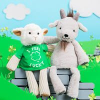 It's Glendon the Goat Scentsy Buddy and I feel Lucky Buddy Tee - 2/13/18