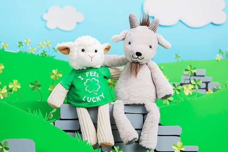 GLENDON THE GOAT SCENTSY BUDDY AND LUCKY TEE | It's Glendon the Goat Scentsy Buddy and I feel Lucky Buddy Tee - 2/13/18
