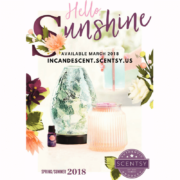 SCENTSY SPRING SUMMER 2018 CATALOG SCENTSY WARMERS, SCENTS & PRODUCTS