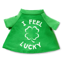 SCENTSY BUDDY CLOTHES:  I FEEL LUCKY ST. PATRICK'S DAY TEE