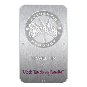 BLACK RASPBERRY VANILLA SCENTSY TRAVEL TIN | Shop Scentsy | Incandescent.Scentsy.us