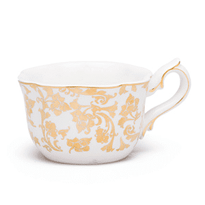 ENGLISH BREAKFAST TEA CUP SCENTSY WARMER DISH ONLY