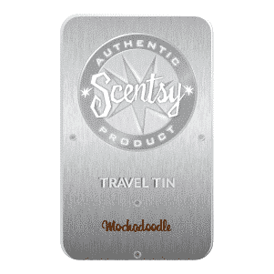 MOCHADOODLE SCENTSY TRAVEL TIN