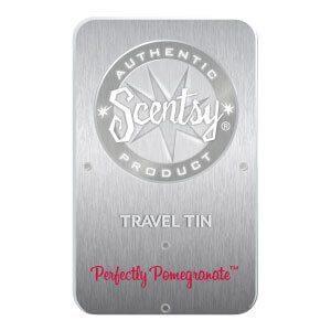 PERFECTLY POMEGRANATE SCENTSY TRAVEL TIN | PERFECTLY POMEGRANATE SCENTSY TRAVEL TIN | Shop Scentsy | Incandescent.Scentsy.us