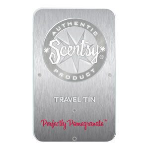 PERFECTLY POMEGRANATE SCENTSY TRAVEL TIN | Shop Scentsy | Incandescent.Scentsy.us