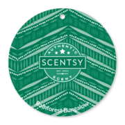 RAINFOREST BUNGALOW SCENTSY SCENT CIRCLE