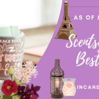 SCENTSY SPRING 2018 BEST SELLER LIST INCANDESCENT.SCENTSY.US MARCH 5, 2018