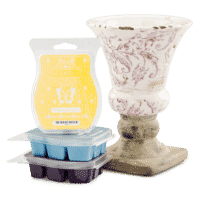 SCENTSY SYSTEM - $40 WARMER & 3 SCENTSY BARS - COMBINE & SAVE