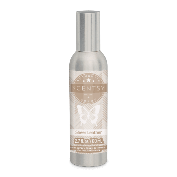 SHEER LEATHER SCENTSY ROOM SPRAY | SHEER LEATHER SCENTSY ROOM SPRAY