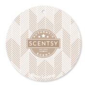 SHEER LEATHER SCENTSY SCENT CIRCLE
