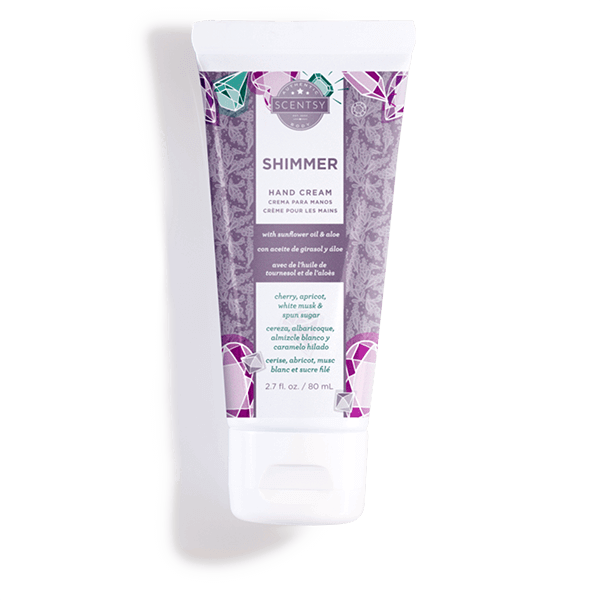 NEW! SHIMMER SCENTSY HAND CREAM   Shop Scentsy   Incandescent.Scentsy.us
