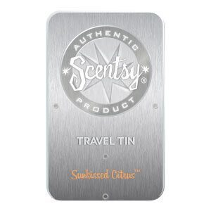 SUNKISSED CITRUS SCENTSY TRAVEL TIN | Shop Scentsy | Incandescent.Scentsy.us